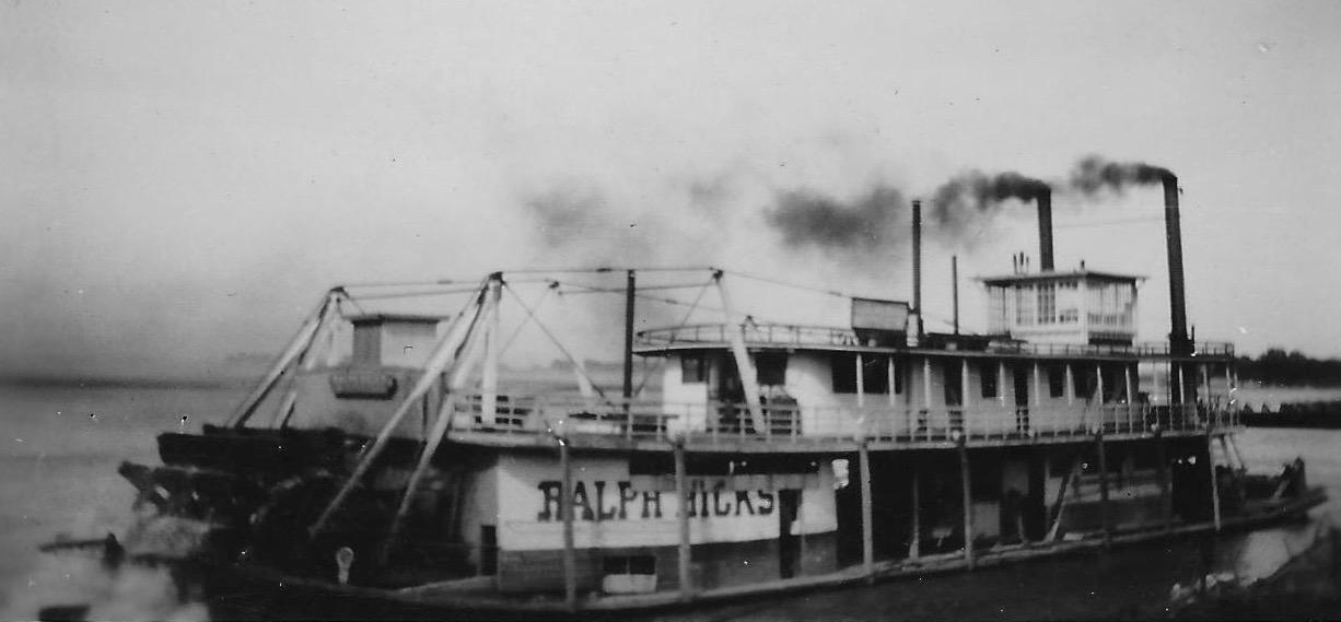 11x14 MISSISSIPPI RIVER BOAT STEAMER 1900 PHOTO
