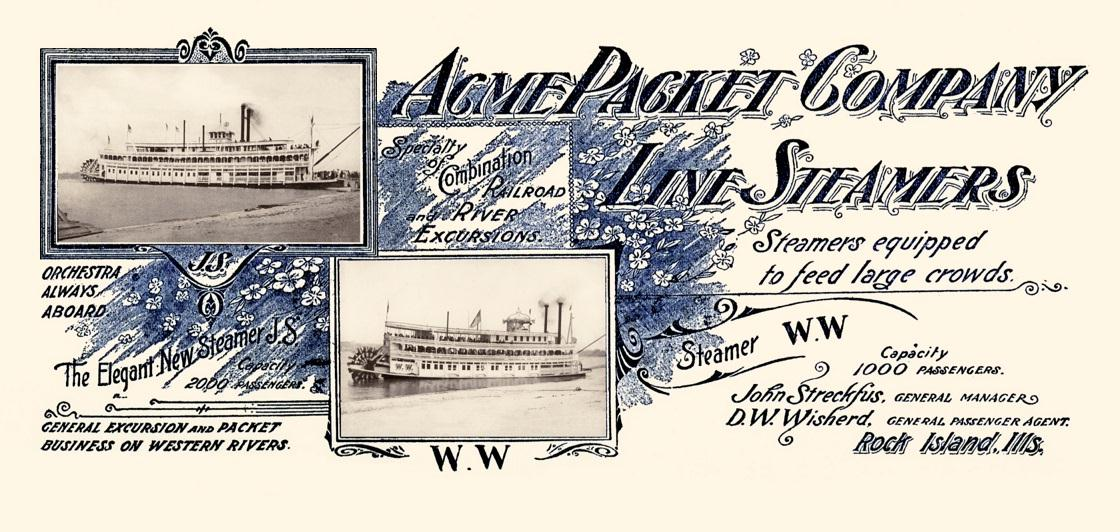 AcmePacketCoLineSteamers6April1910