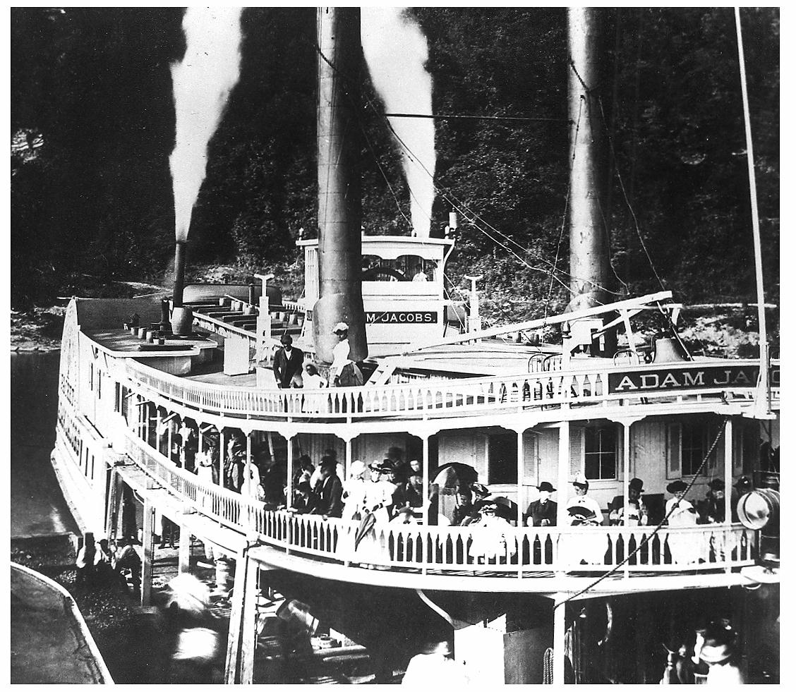 old steamboats