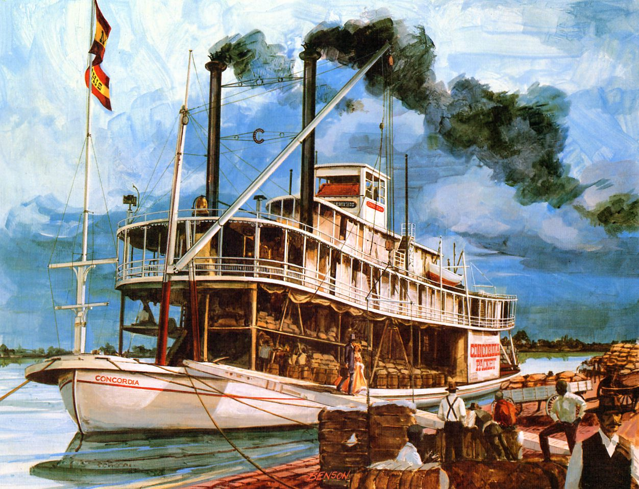 stockers landing illustration