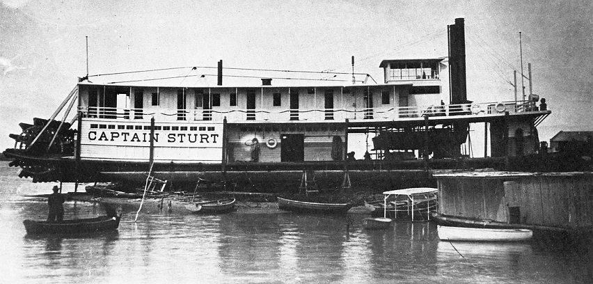 Captain Sturt Murray River starboard profile 60 percent EXP