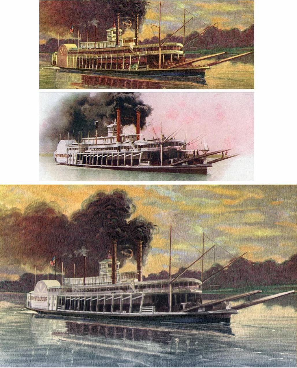 steamboat illustration
