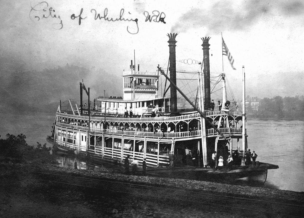 Old Mississippi River Steamboats