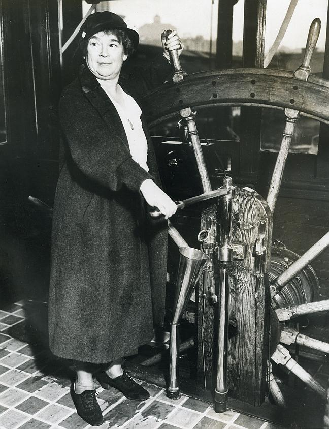 Lady Captain Anna G. Grimison Skagit River Company Seattle One Third for NORI