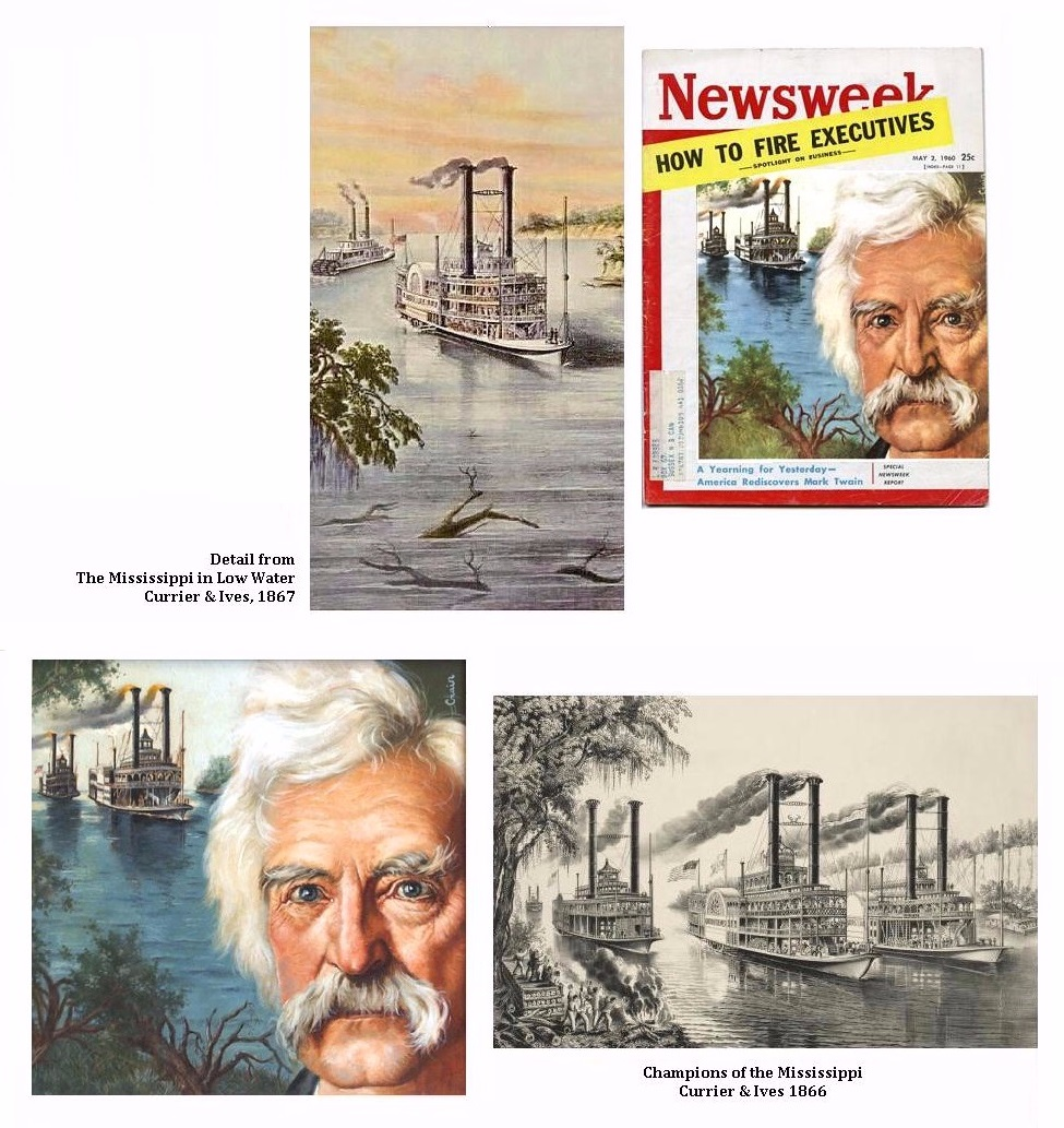 Mel Crair Twain Currier & Ives Inflence and Newsweek Cover
