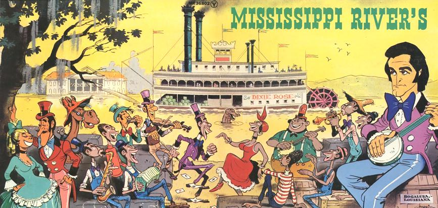 Mississippi River's Wrap Around LP album cover