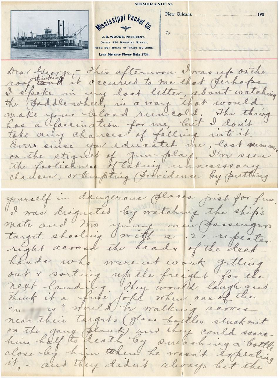 MississippiPacketCo1907LetterPage1BothSides45percent