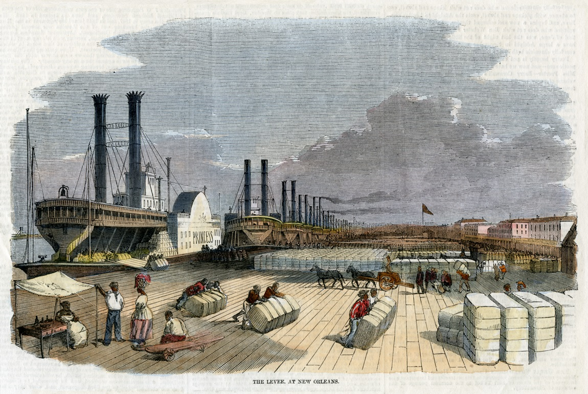 NewOrleansLeveeIllustratedLondonNews5June1858REDUCEDforNORI