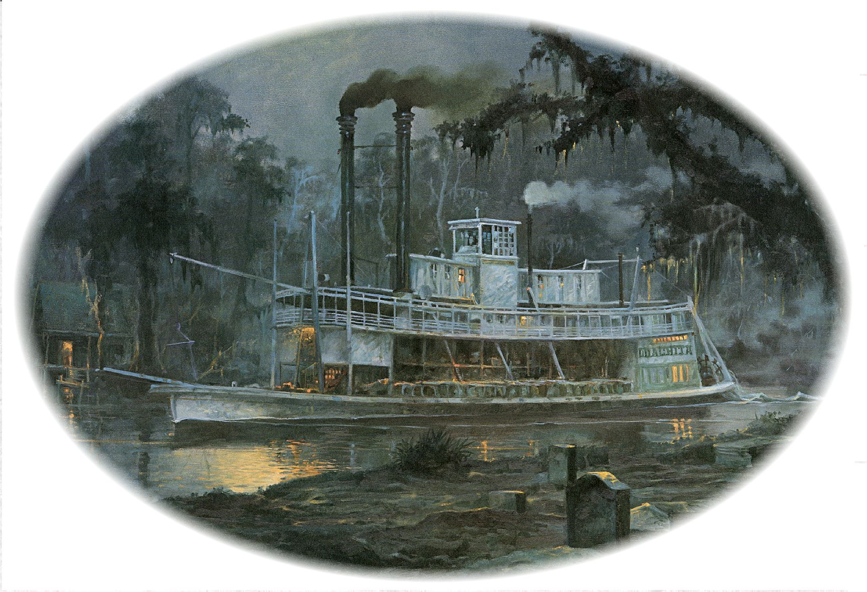 ruckers ghostly steamboat