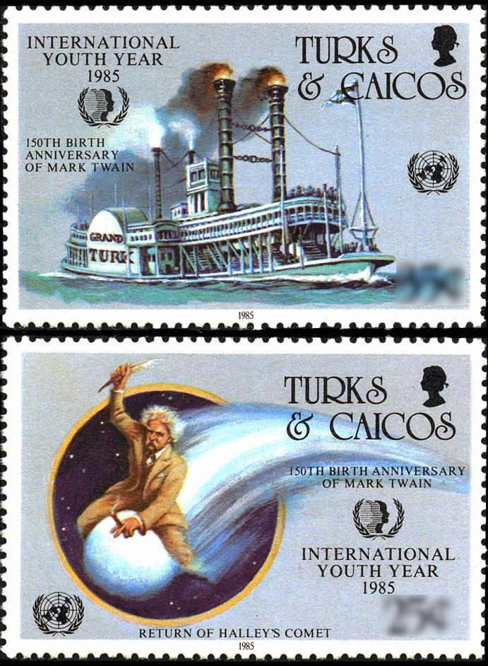 Image result for mark twain stamps