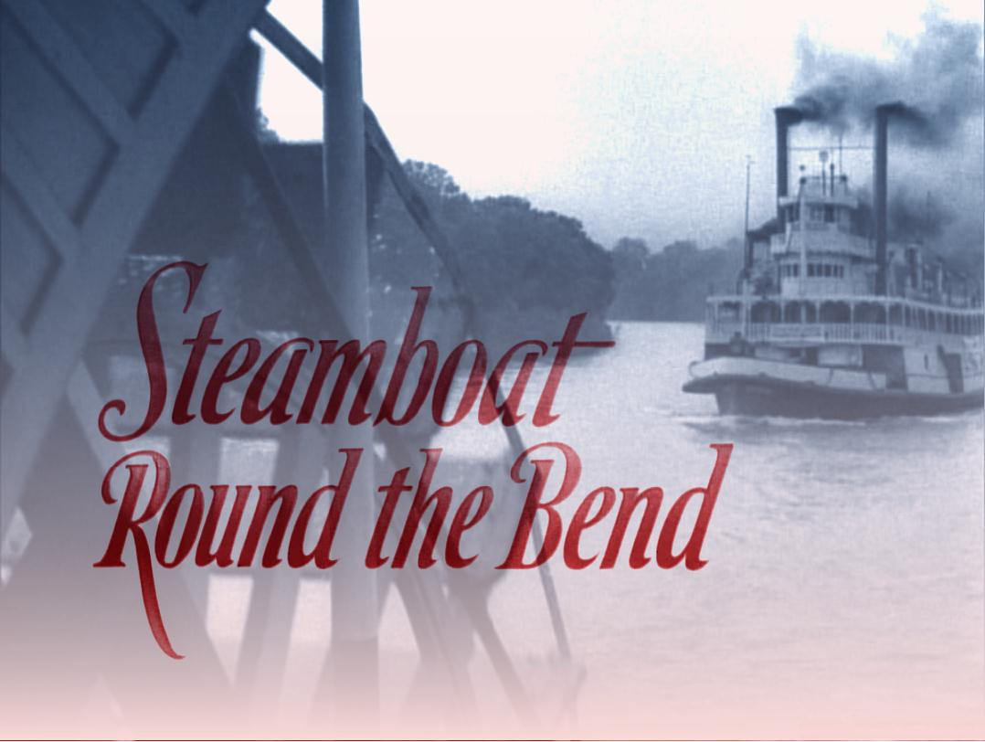 steamboat round the bend illustration