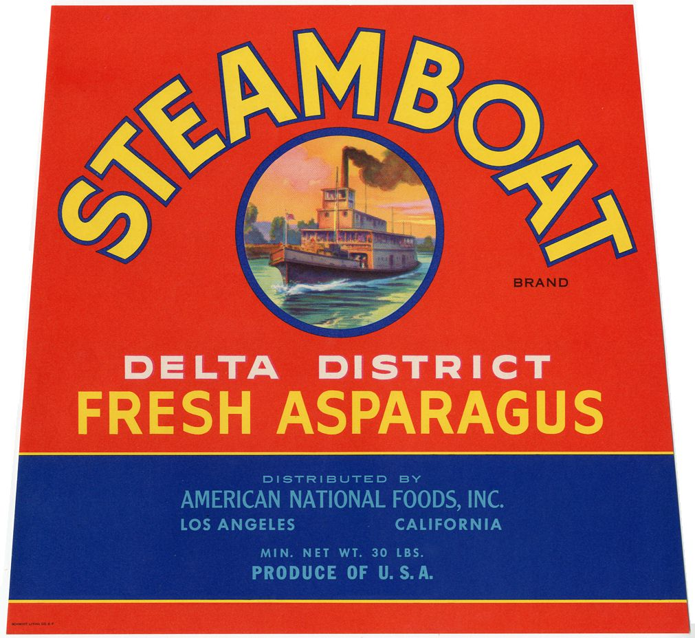steamboat label
