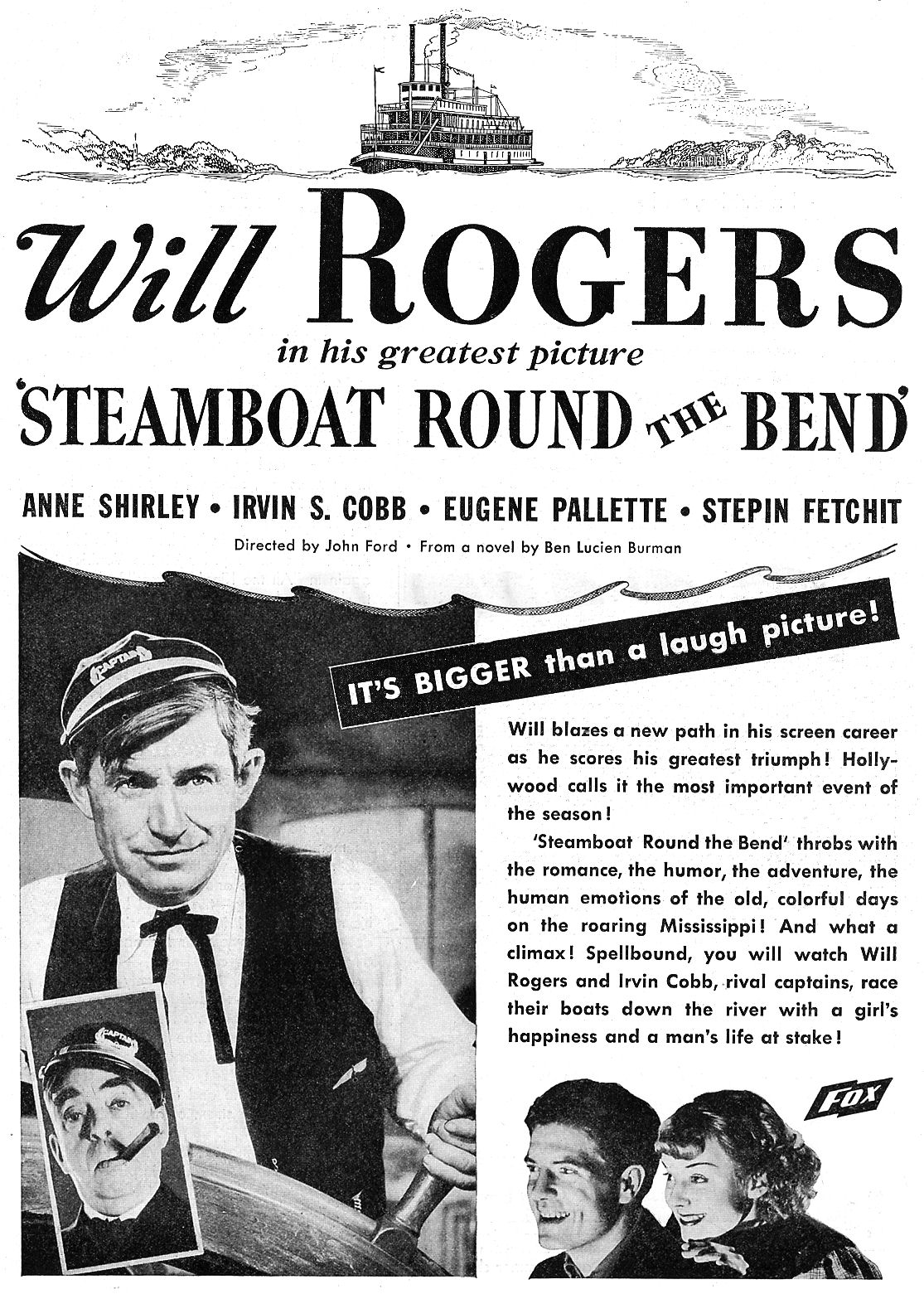 steamboat round the bend ad