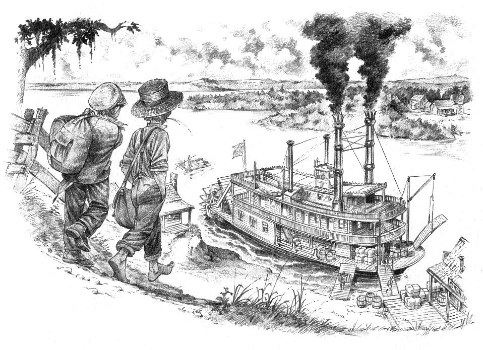 Tom Sawyer Illustrations