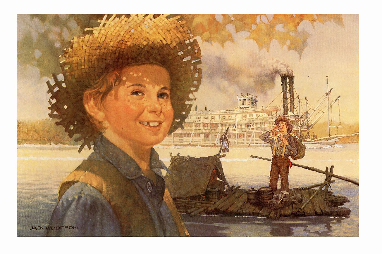 huckleberry finn tom