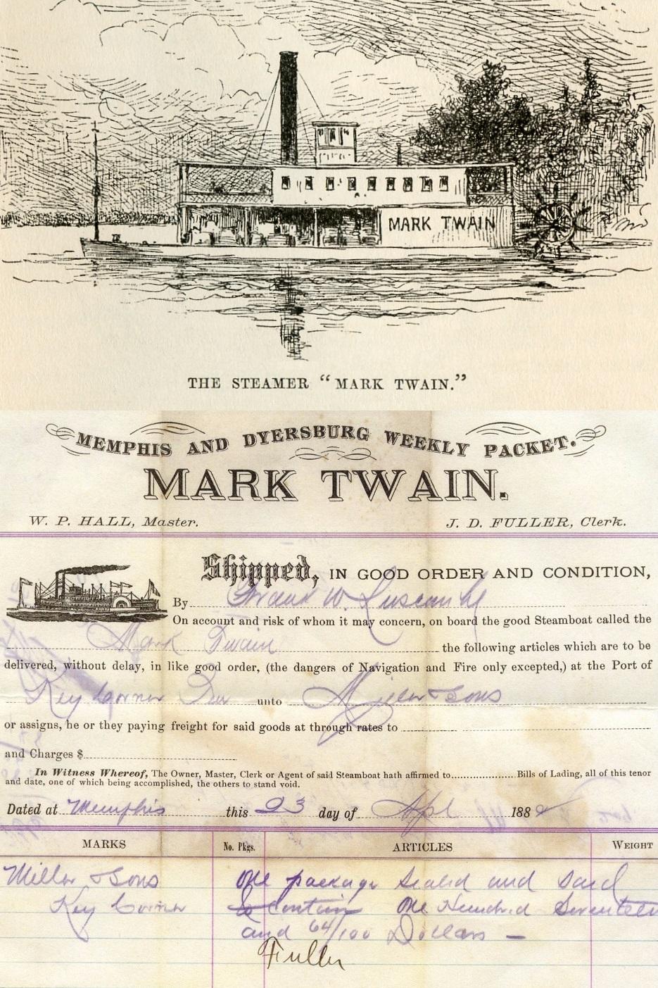 Mark Twain Guest House, Natchez