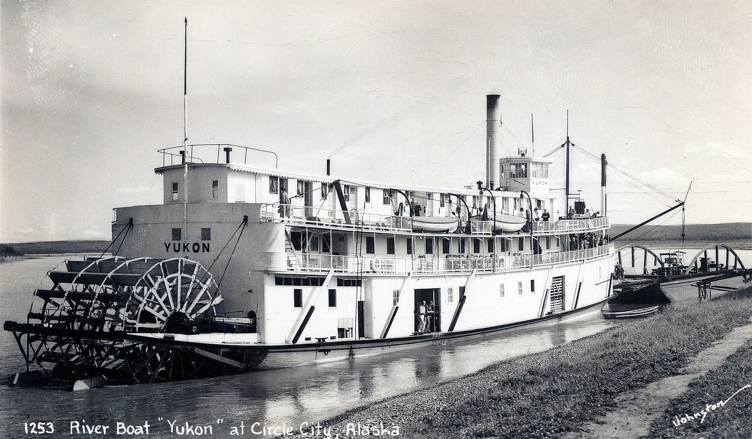 Yukon riverboat