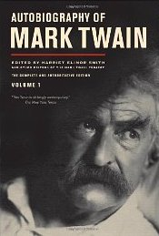 Twain autobiography cover